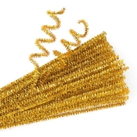 EC - Chenille Stems Gold (100 pack)
