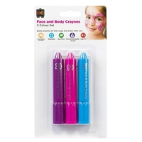 EC - Face and Body Crayons (set of 3)
