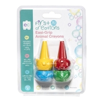 First Creations - Easi-Grip Animal Crayons (set of 4)