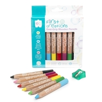 First Creations - Easi-Grip Wooden Pencils (6 pack)