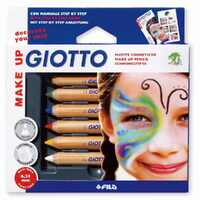 Giotto - Make-Up Pencils (6 pack)