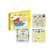 Learning Can Be Fun - Blending Consonants Desk Games (pack of 3 games)