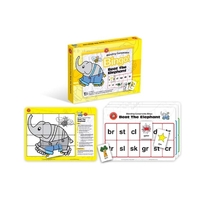 Learning Can Be Fun - Beat The Elephant Bingo - Blending Consonants