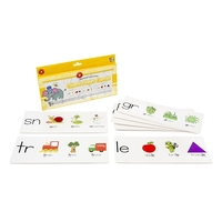 Learning Can Be Fun - Blending Consonants Giant Flash Cards