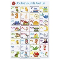 Learning Can Be Fun - Double Sounds Are Fun Poster