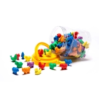 Learning Can Be Fun - Counters Farm Animals (108 pieces)