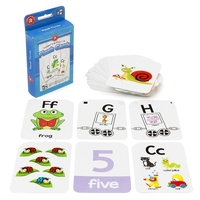 Learning Can Be Fun - Alphabet and Numbers 1-10 Flashcards
