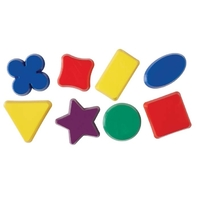 Learning Can Be Fun - Sand Mould Shapes (16 pieces)