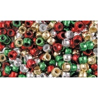 Pony Beads Christmas Pack (200 pack)