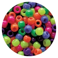 EC - Neon Multi Mix Beads (1600 pack)