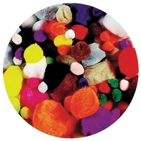 EC - Pom Poms Standard Colours (300 pieces)