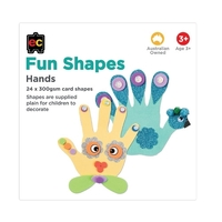 EC - Fun Shapes Hands (24 pieces)