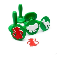 EC - Paint & Dough Stampers Jungle Animals (set of 6)