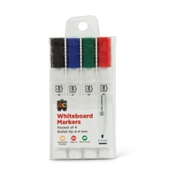 EC - Whiteboard Markers Thick (4 pack)