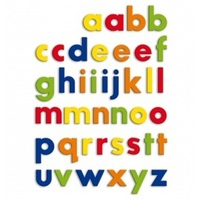 Quercetti - Magnetic Lower-Case Letters (48 pieces)