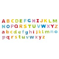 Hape - ABC Magnetic Letters (52 pieces)