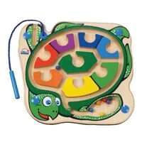Hape - Colourback Sea Turtle Magnetic Marble Maze