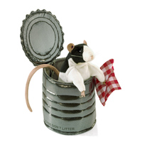 Folkmanis - Rat in Tin Can Puppet