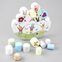 Floss and Rock - Wooden Balancing Game - Bunny