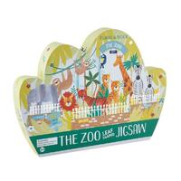 Floss and Rock - The Zoo Puzzle 80pc