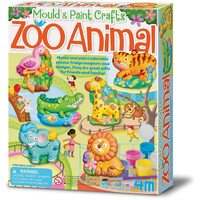 4M - Mould & Paint Zoo Animals