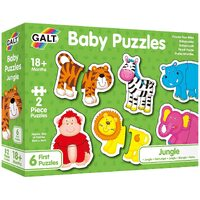 Galt - Baby Puzzles - Jungle - 2pc