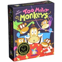 Gamewright - Too Many Monkeys Card Game