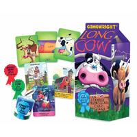 Gamewright - Long Cow An Udderly Ridiculous Card Game
