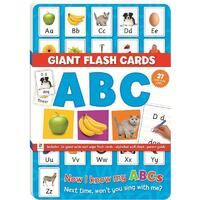 Giant Flash Cards ABC