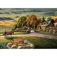 Holdson - A Safe Haven, Lakeside Cottage Puzzle 1000pc
