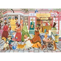 Holdson - Looking Back Spring Fashions From Paris Puzzle 1000pc