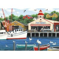 Holdson - Dock of the Bay - Pelican Bay Puzzle 1000pc