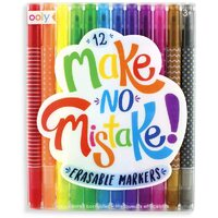 Ooly - Make No Mistake Erasable Markers 12 pack