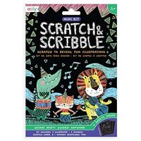 Ooly - Mini Scratch & Scribble - Safari Party
