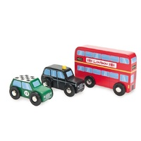 Indigo Jamm - British Classics Wooden Vehicles Set