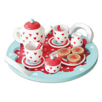 Indigo Jamm - Hearts Tea Set