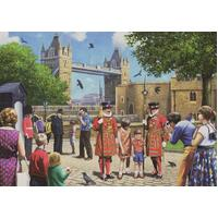 Jumbo - Beefeaters at the Tower Puzzle 1000pc