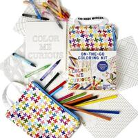 Kid Made Modern - On-The-Go Colouring Kit