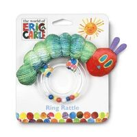 Eric Carle - Very Hungry Caterpillar Ring Rattle