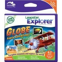 LeapFrog Leapster 2 Game - Globe Earth Adventures