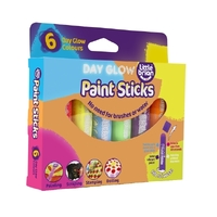Little Brian - Paint Sticks - Day Glow (6 pack)