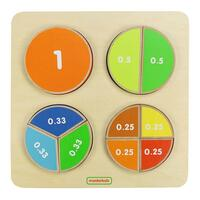 Masterkidz - Fraction Board