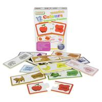 Masterkidz - Wooden Learning Puzzle Colours