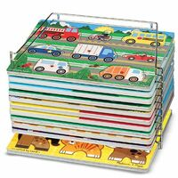 Melissa & Doug - Single Wire Puzzle Rack