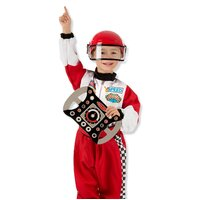 Melissa & Doug - Race Car Driver Costume Set