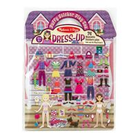 Melissa & Doug - Reusable Puffy Sticker Play Set - Dress-Up