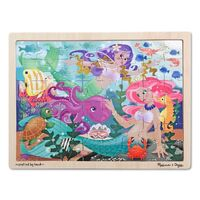 Melissa & Doug - Mermaid Fantasea Jigsaw Puzzle - 48pc
