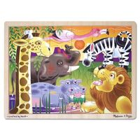Melissa & Doug - African Plains Jigsaw Puzzle - 24pc