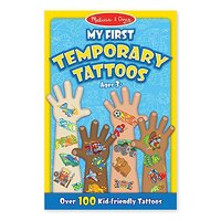 Melissa & Doug - My First Temporary Tattoos - Blue