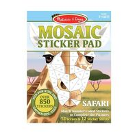 Melissa & Doug - Mosaic Sticker Pad - Safari